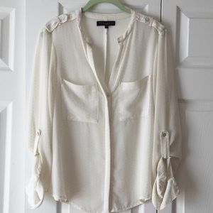 Sanctuary | Nordstrom Swiss Dot blouse size small
